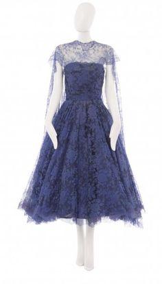 A Balenciaga haute couture dress, circa 1954
