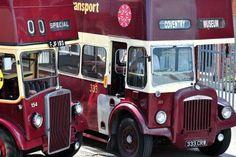 Coventry Transport Museum - Vintage bus fleet