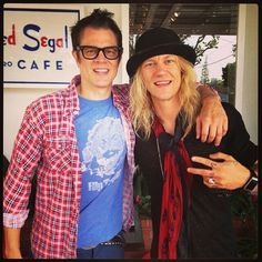 Johnny Knoxville & Jukka Hilden (The Dudesons)