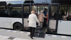 Making space for older people in public traffic. It is not a norm of the Netherlands, it has become a value over the years since more people go by public transport these days.