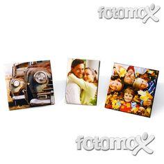 Mini Foto su Tela Canvas - Stampa su tela in mini quadretti | Fotomox