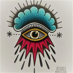All seeing eye, Isra Almagro, Barcelona