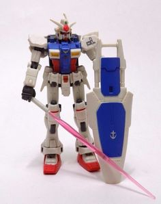 "Gundam GP01 Mobile Suit 4"" Action Figure 2001 Bandai Loose  #Bandai"