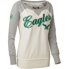 Great for a chill Fall game! #Eagles Retro Pullover Shirt.