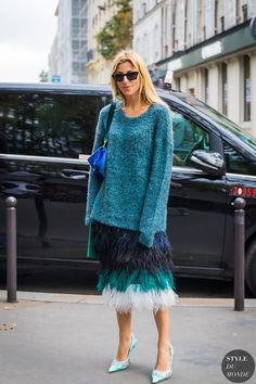 Paris SS 2018 Street Style: Ada Kokosar