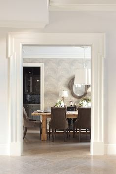 Photo Gallery Designer Kelly Decks Interiors Wood Dining TablesDining Room