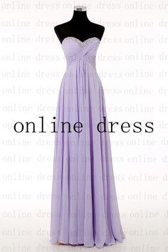 Aline Sweetheart Sleeveless Floorlength Chiffon by onlineDress $119