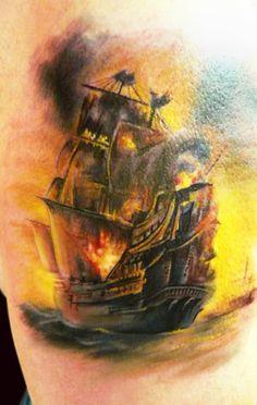 Tattoo Artist - Adam Kremer - nautical tattoo