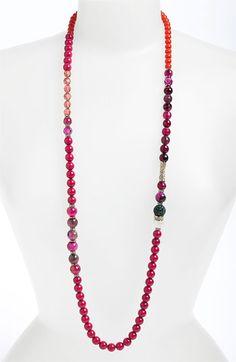 Sequin 'Holiday Hockney' Long Necklace (Nordstrom Exclusive)   Nordstrom