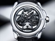 The House of Cartier has now given a sneak peek at its forthcoming mechanical watches with the Cartier ID Two concept watch, a high-efficiency watch Stylish Watches, Luxury Watches, Cool Watches, Watches For Men, Men's Watches, Fancy Watches, Unique Watches, Elegant Watches, Pocket Watches