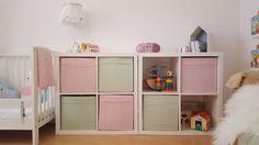 Kallax Regale im Kinderzimmer