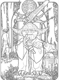 camada-star-wars-coloring-book-for-adults-mercedes-skiney