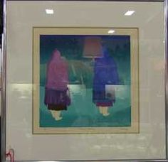 Signed, 1 of 1, Ouray Meyers Painting. - Starting Bid $300.00 - Brass Armadillo Antique Mall - Denver.