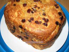 Žemľovka z domácej pekárničky Banana Bread, Muffin, Pie, Breakfast, Food, Basket, Bakeware, Bread Baking, Play Dough