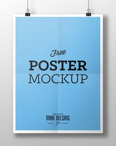 http://blog.spoongraphics.co.uk/articles/20-free-psd-templates-to-mockup-your-poster-designs