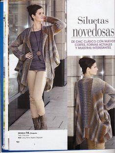 Laura Nº15 (Moda de Punto) Ruffle Blouse, Tops, Women, Fashion, Role Models, Knit Fashion, Knitting Charts, Silhouettes, Urban