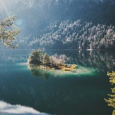 How enchanting is Eibsee? Tag someone you'd love to explore Bavaria with! Photo by (via reader at Eibsee, Grainau, Bavaria. Thanks for tagging Places Around The World, Around The Worlds, Alpine Lake, World Photography, See Picture, Alps, Places To Travel, Wanderlust, Urban
