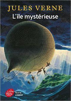 Amazon.fr - L'île mystérieuse - Texte abrégé - Jules Verne, Manchu - Livres