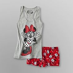 s pajamas - tank top & shorts. Cute Pjs, Cute Pajamas, Comfy Pajamas, Pajamas For Teens, Pajamas Women, Satin Pyjama Set, Pajama Set, Cute Sleepwear, Babydoll