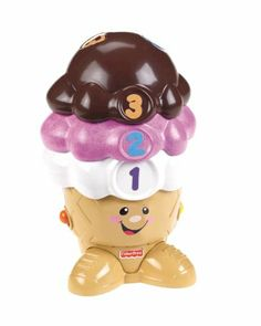 Amazon.com : Fisher-Price Laugh and Learn Singin' Scoops : Baby Toys : Toys & Games
