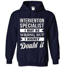 INTERVENTION-SPECIALIST - Doubt it - teeshirt #Tshirt #hooded sweatshirt dress