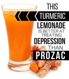 Turmeric Lemonade To Treat Depression