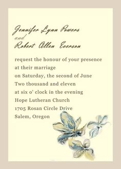 Yellow watercolor flower wedding invitations EWI237 as low as $0.94 Yellow Wedding Invitations, Invites, Spring Weddings, Reception Card, Response Cards, Watercolor Flowers, Colorful Backgrounds, Wedding Flowers, Marriage