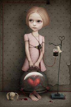 'Girl without heart' by Kulik Larissa