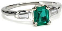 #The Three Graces         #ring                     #Platinum #Emerald #Diamond #Ring #Three #Graces    Platinum Emerald and Diamond Ring - The Three Graces                                                    http://www.seapai.com/product.aspx?PID=457999