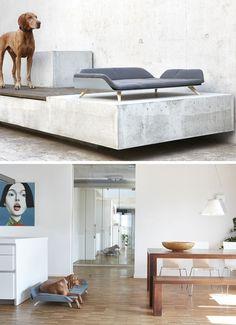 Letto DayBed Una Cama Moderna Para Perros Con Mucho Estilo. Modern Dog BedsFrame  ...