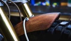 Details. A wooden fender on @garage.sheriff's build. . #croig…