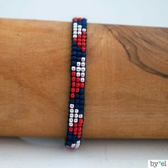 Items similar to End beads miyuki woven bracelet on Etsy I wanted to exhibit you steps to make a bracelet … Loom Bracelet Patterns, Bead Loom Bracelets, Bead Loom Patterns, Woven Bracelets, Beading Patterns, Gold Bracelets, Gold Earrings, Seed Bead Jewelry, Bead Jewellery