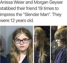 The Slender Man will come get you. Weird Stories, Horror Stories, Scary Stuff, Random Stuff, Something Awful, Investigation Discovery, Horrible Histories, Slender Man, Major Events