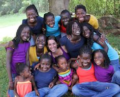 The inspiring blog of Katie Davis in Uganda. Her book Kisses from Katie details how a 2006 church trip to Uganda inspired her to move there, adopt 13 girls, while she herself was in her early 20's, and help create Amazima Ministries, which has matched 600 orphaned & vulnerable children with sponsors & feeds an additional 1,200 each week