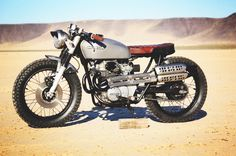 Aaron Millers CL350 Brat / Scrambler by Dime City Cycles