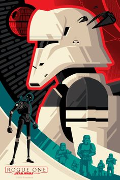 Rogue One: Regal IMAX Collectable Ticket - Tom Whalen