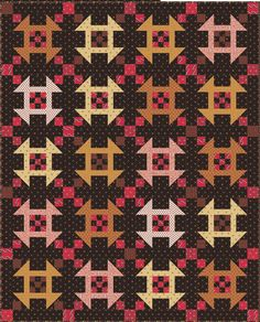The Quilted Moose | Gretna, NE - The Quilts of Prairie Rose fabrics by Jo Morton for Andover Fabrics