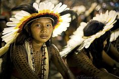 Indigenous peoples in Brazil -  by Tatiana Cardeal