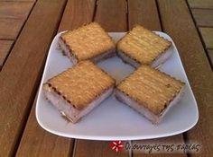 Παγωτό σάντουιτς 2 Comme Un Chef, Le Chef, Greek Desserts, Slushies, Recipe Images, Love Is Sweet, Sorbet, Gelato, Sweet Recipes