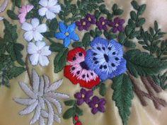 Bouquet fleurs en couleurs