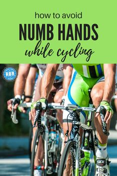 What's the Best Grip to Prevent Numb Fingers? - Road Bike Rider Cycling Site - What's the Best Grip to Prevent Numb Fingers? – Road Bike Rider Cycling Site How to avoid numb fingers when cycling Cycling Motivation, Cycling Quotes, Cycling Tips, Cycling Workout, Cycling Art, Road Cycling, Cycling Jerseys, Bike Workouts, Bicycle Quotes