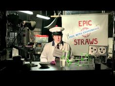 EPIC Straws Advert (made by humans NOT cats)    Ad Agency: EPIC W London