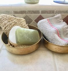 Your place to buy and sell all things handmade Vintage Garden Decor, Hand Towels, Vintage Kitchen, Bowls, Vintage Items, Copper, Soap, Bath, Etsy