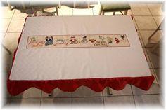 la nappe de Noël - latelier de Moumoune