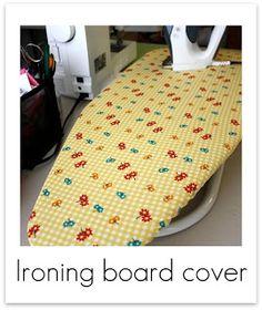 Ironing Board Cover Tutorials