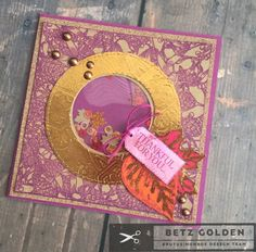 Thankful For You Shaker Card Featuring Deco Foil