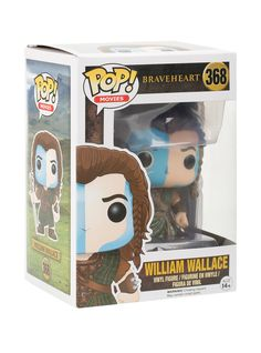 """They may take our lives, but they'll never take our freedom!"" - William Wallace // Funko Braveheart Pop Movies William Wallace Vinyl Figure"