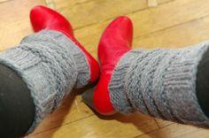 Tuto : des guêtres de danseuse pour avoir chaud ! - Une souris sur le fil
