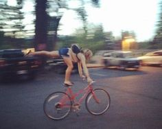 10 Ways to Practice Yoga on Two Wheels (No acrobatic feats required) via @YOGANONYMOUS