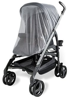 Baby Mosquito Net for Strollers, Carriers, Car Seats, Cradles. Fits Most Pack'n'Plays, Cribs, Bassinets & Playpens. 44 x 48 Inch, Made of White, Portable & Durable Baby Insect Netting - $15.50